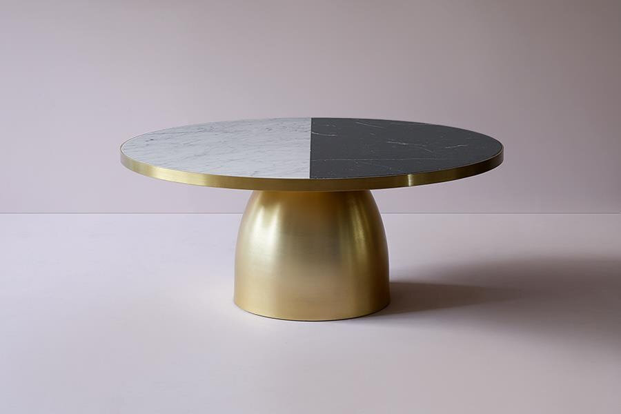 NEW |  LUSTRE TWO-TONE COFFEE TABLE