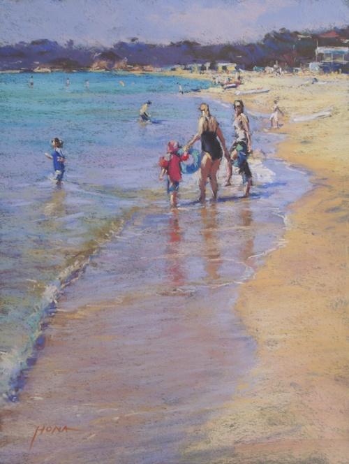 Regina+Hona,+A+Day+At+The+Beach,+pastel,+50+x+40+cm,+pastel.jpg