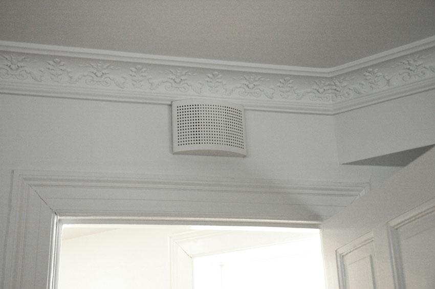 Foto af ventilation i Ryesgade 30