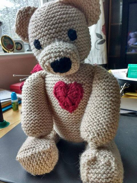 Knitted-with-love by Sarah Dawes