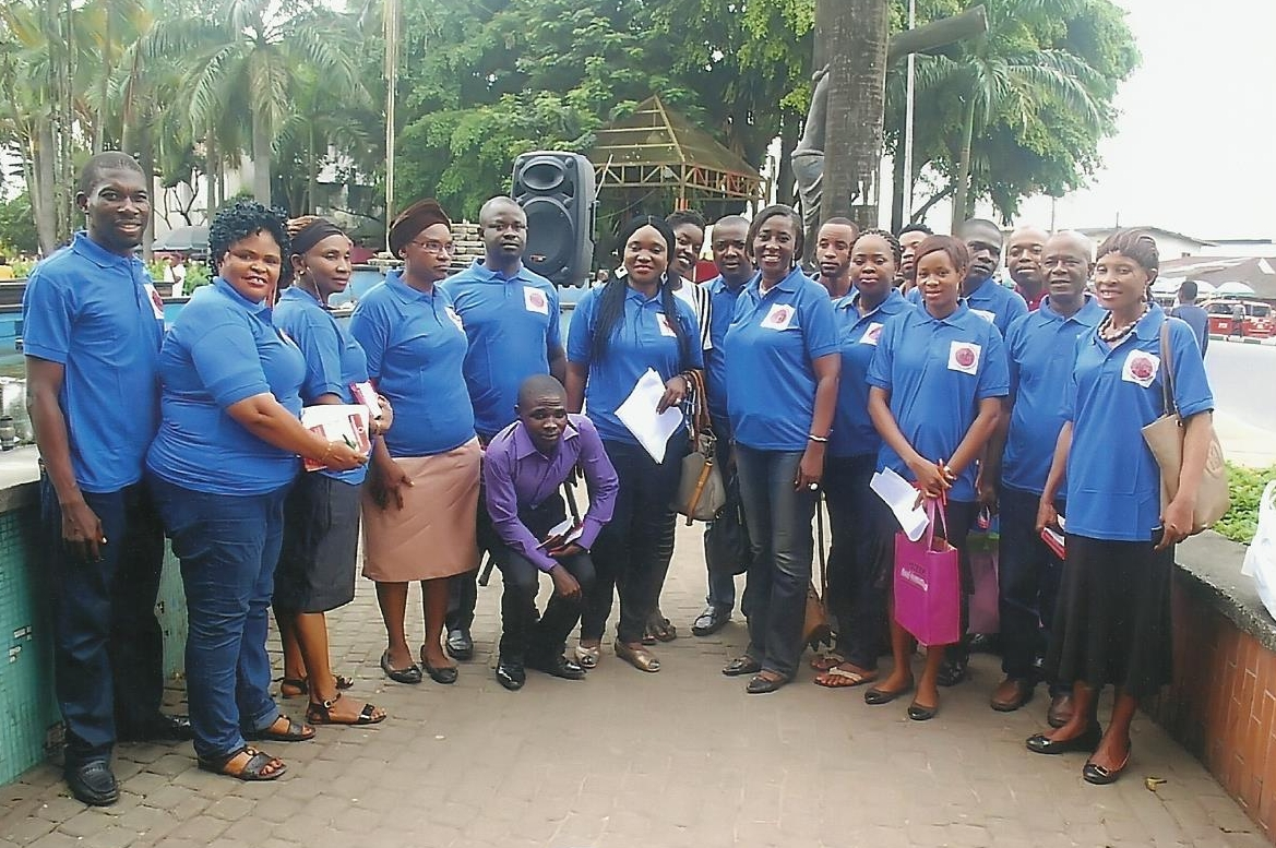 Members of the Akwa Ibom PACT Group, following their successful media campaign in 2017.