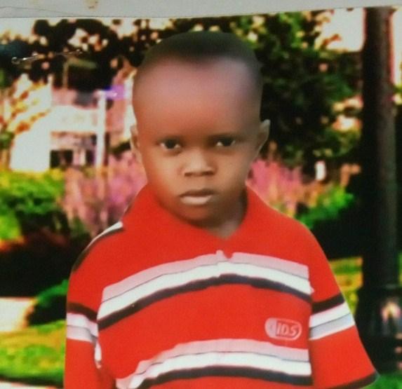 Samuel: missing since April 2015