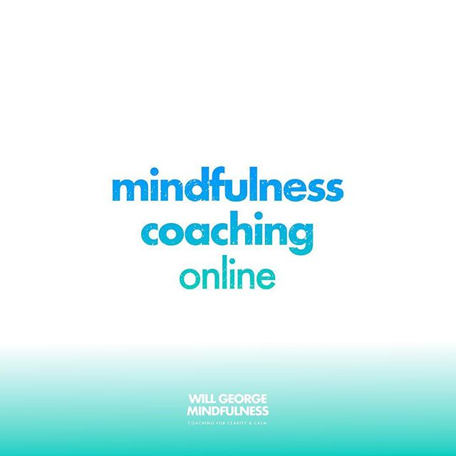 Online coaching is a super-accessible way to learn mindfulness with a high level of personalised support. Find out more by visiting the Courses & Coaching page on my website (link in bio). #mindfulness #coaching #wellbeing #meditation