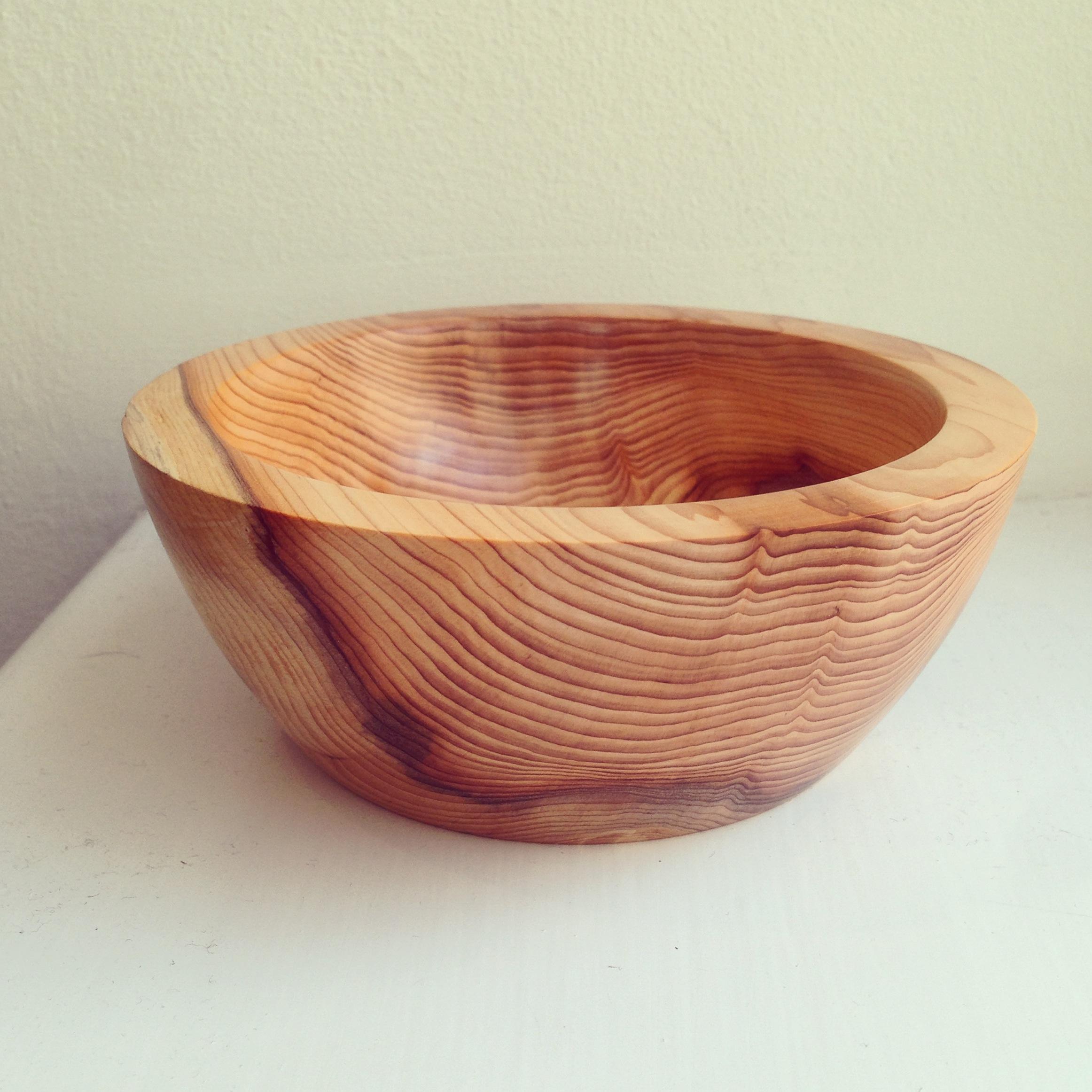 Bowl, Yew