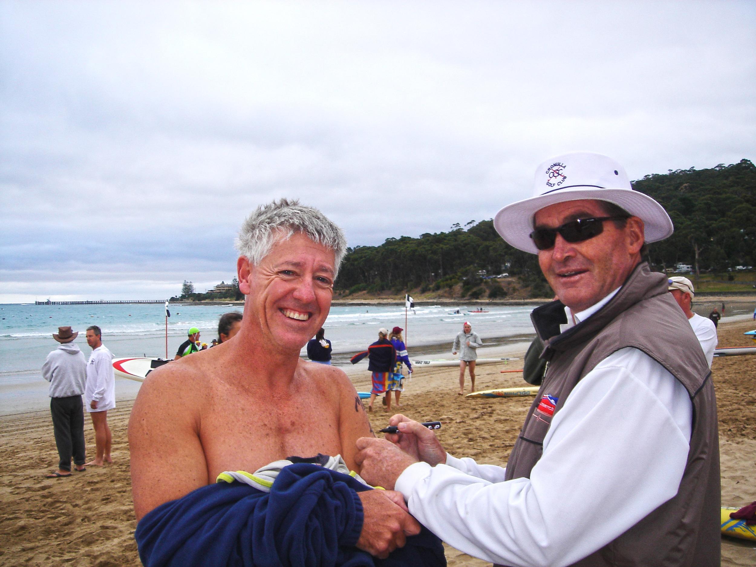 Doug Iredale Swim Surf Paddle Coach