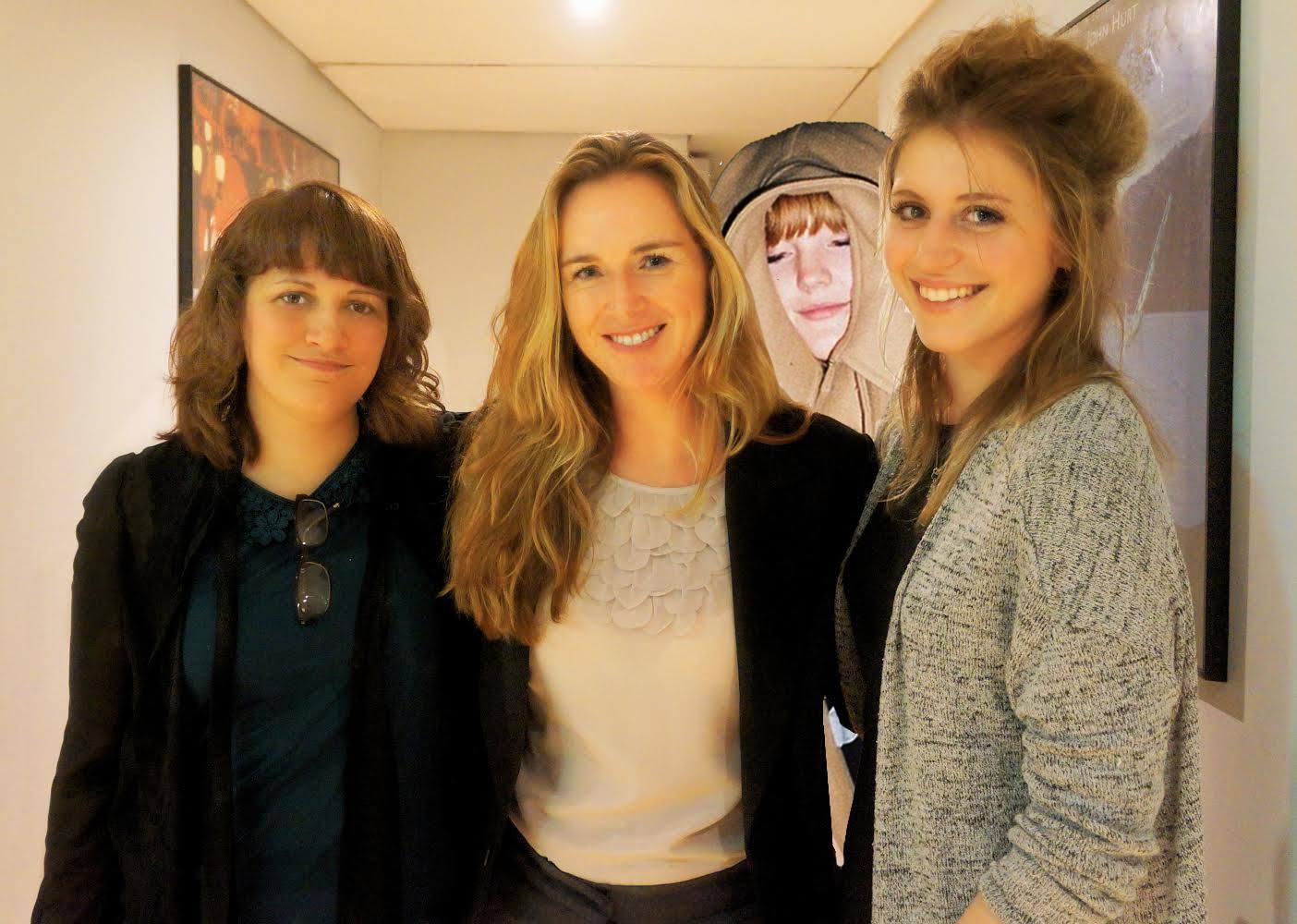 With mentor Saskia Schuster
