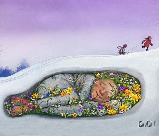 Hold ut. Våren trenger bare å sove litt til.