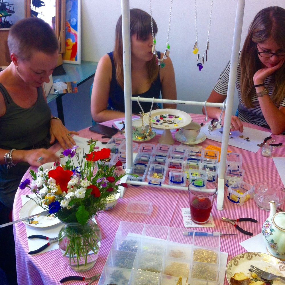 PRIVATE WORKSHOP - Stuck for a birthday party idea or just want to organsise a crafty get together with friends? Then why not book a private workshop for you and up to 15 people.Choose from a seelction of products to make.