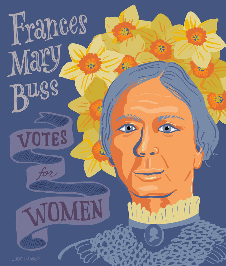 Suffragette Frances Mary Buss (1827-1894)