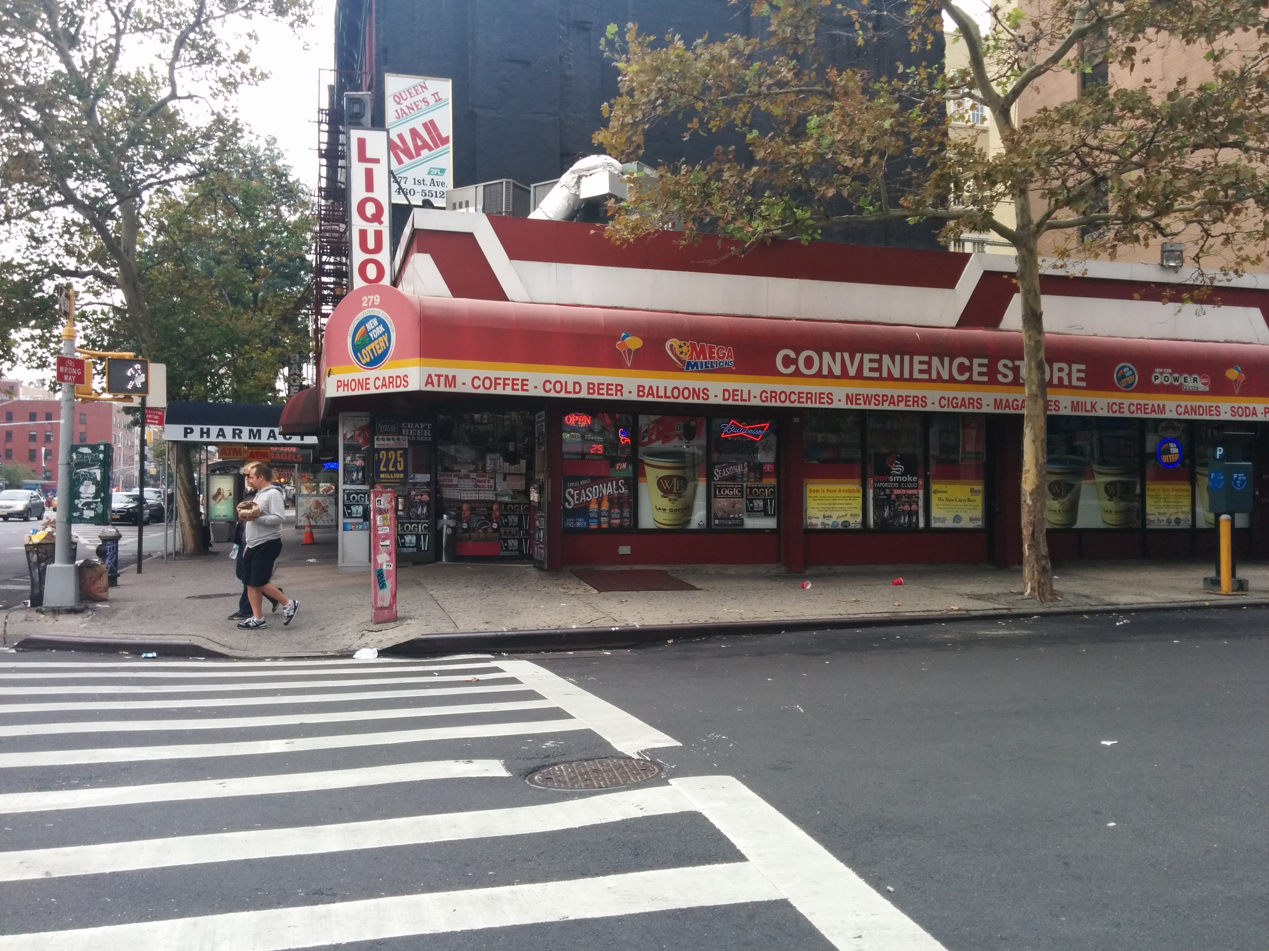 Bad Sign 1 - Your shop is called 'Convenience Store'? Really?