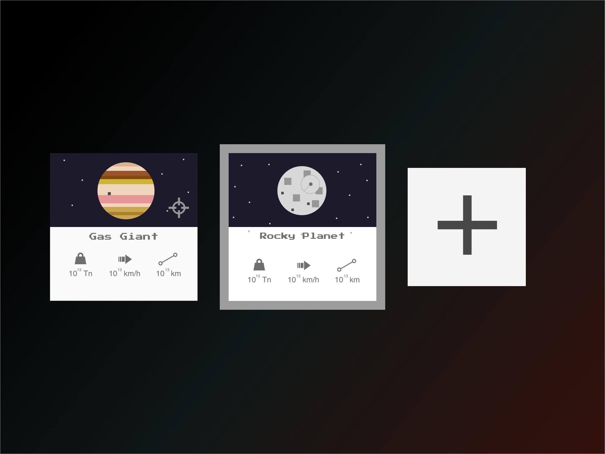 Sample of Screens
