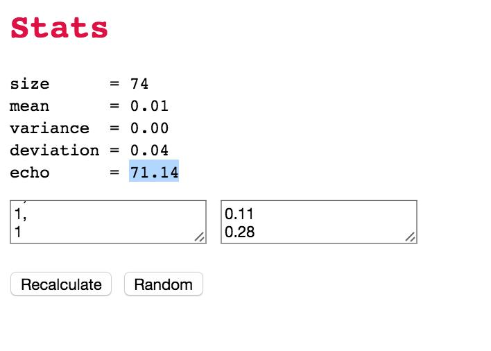 Running data through analysis program
