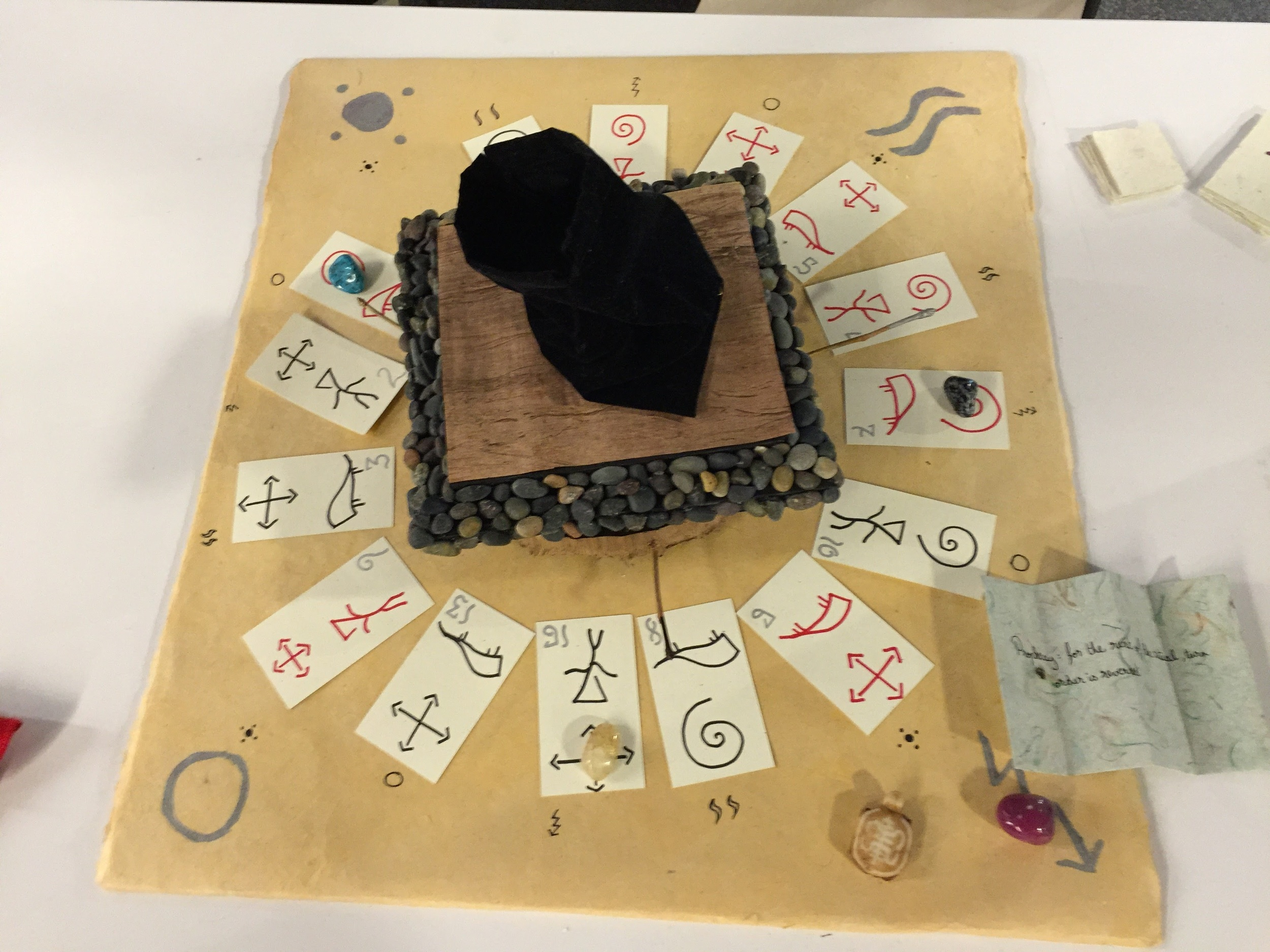 Seven Days of Sacrifice - a tabletop game made during the Global Game Jam 2016