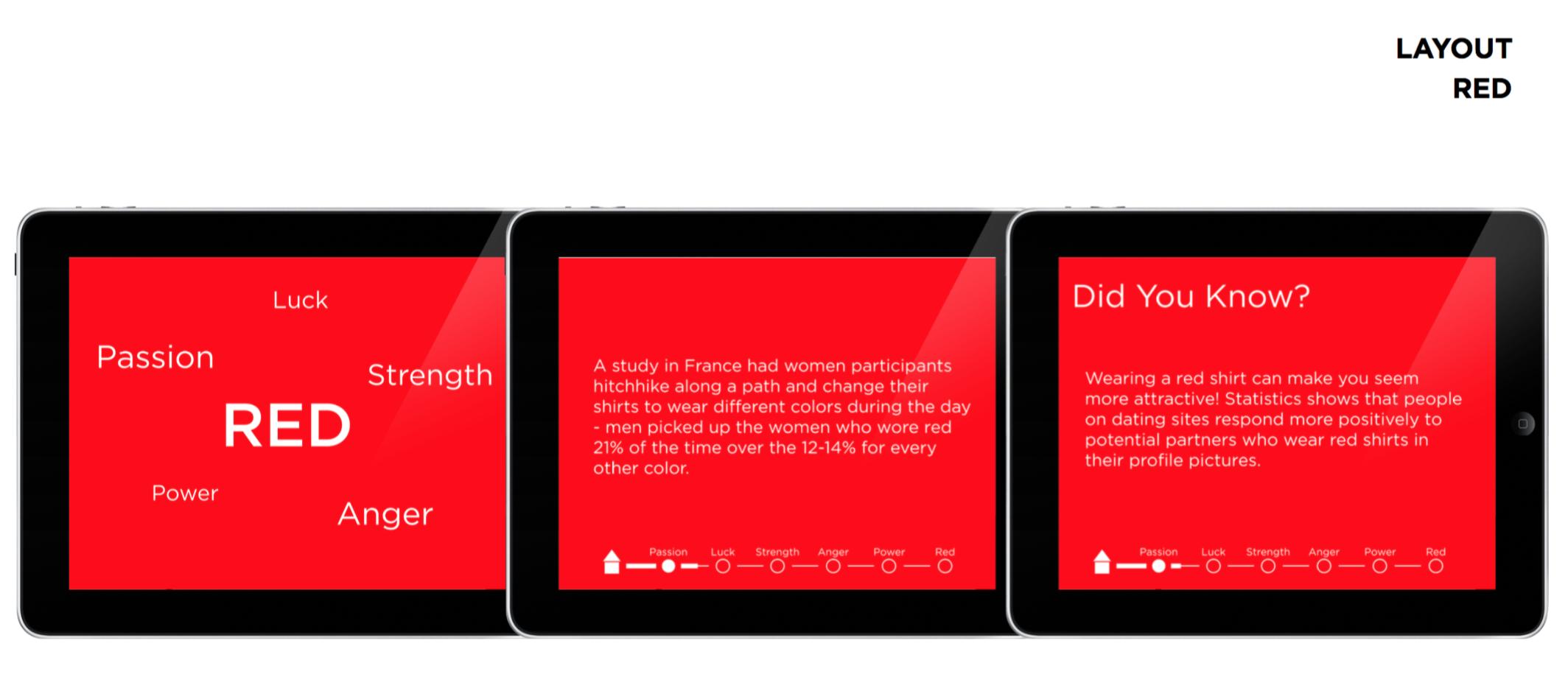 iPad App v1 Visuals