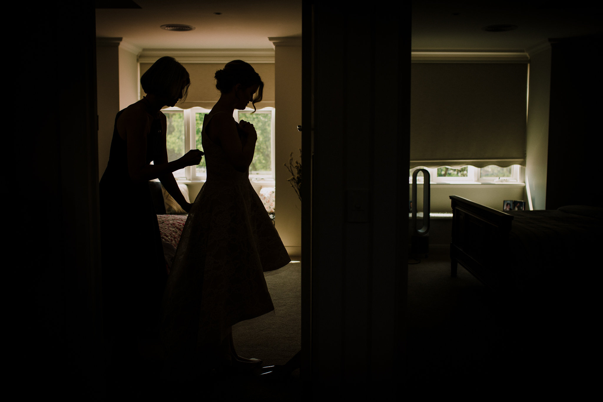 Brudekjole fotograf
