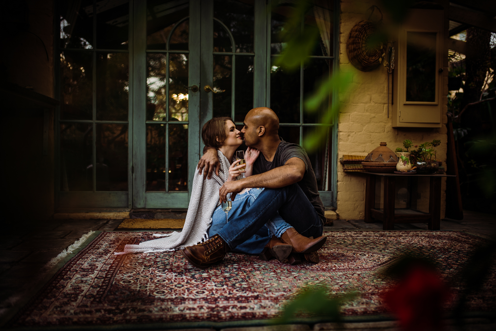 Melbourne engagement shoot. Intimate engagement shoot