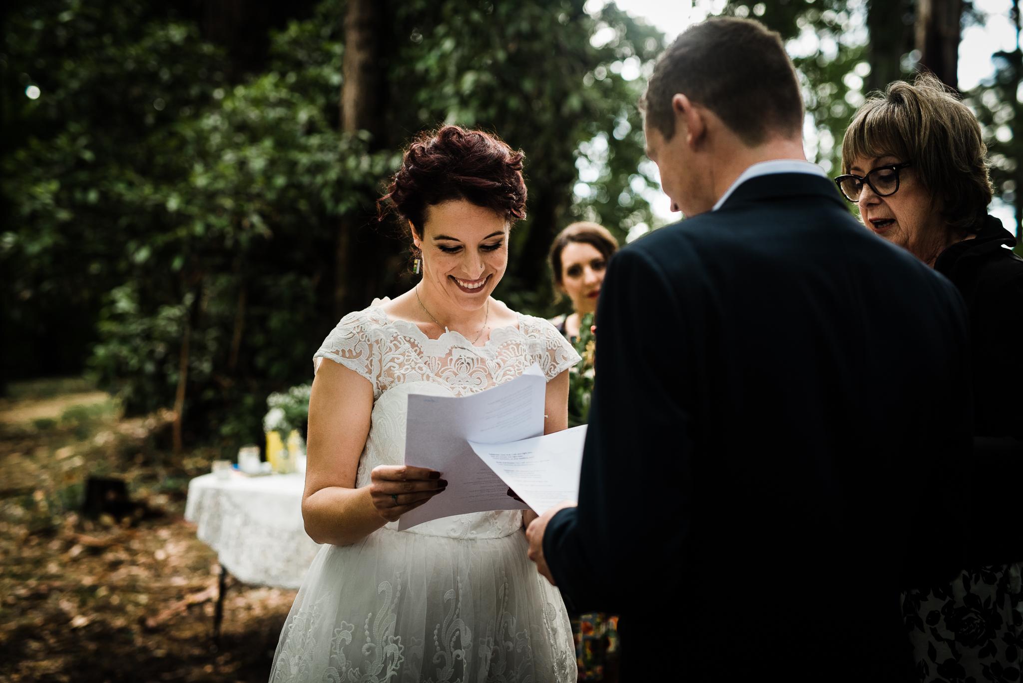 Forest DIY wedding_Lee and Steve_Ferny Creek reserve_-36.jpg