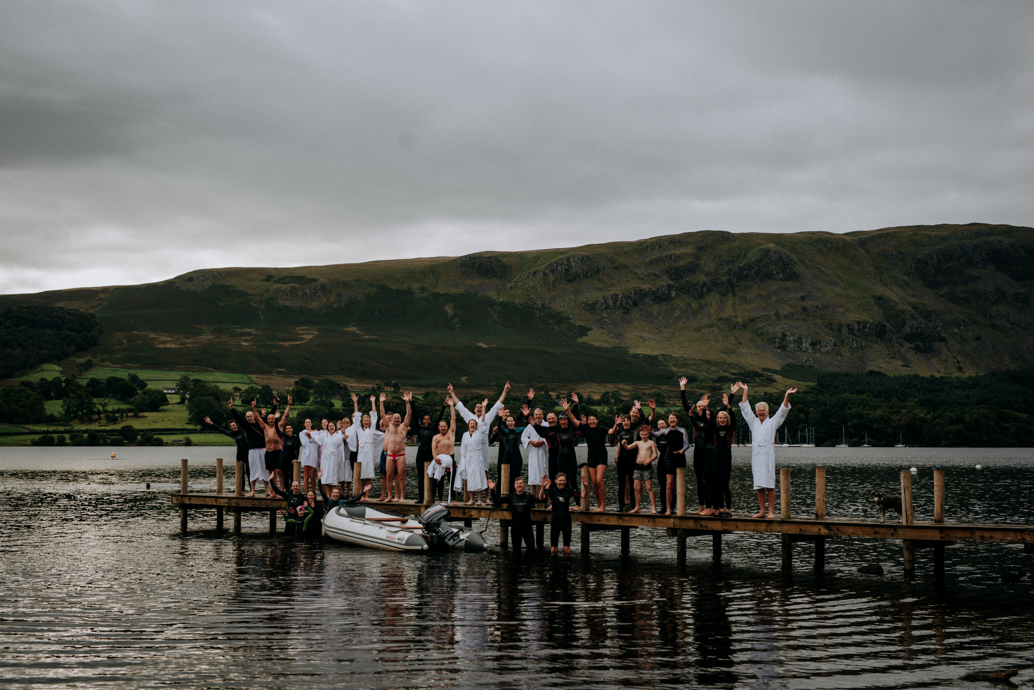 Wedding at Another Place in Lake Ullswater