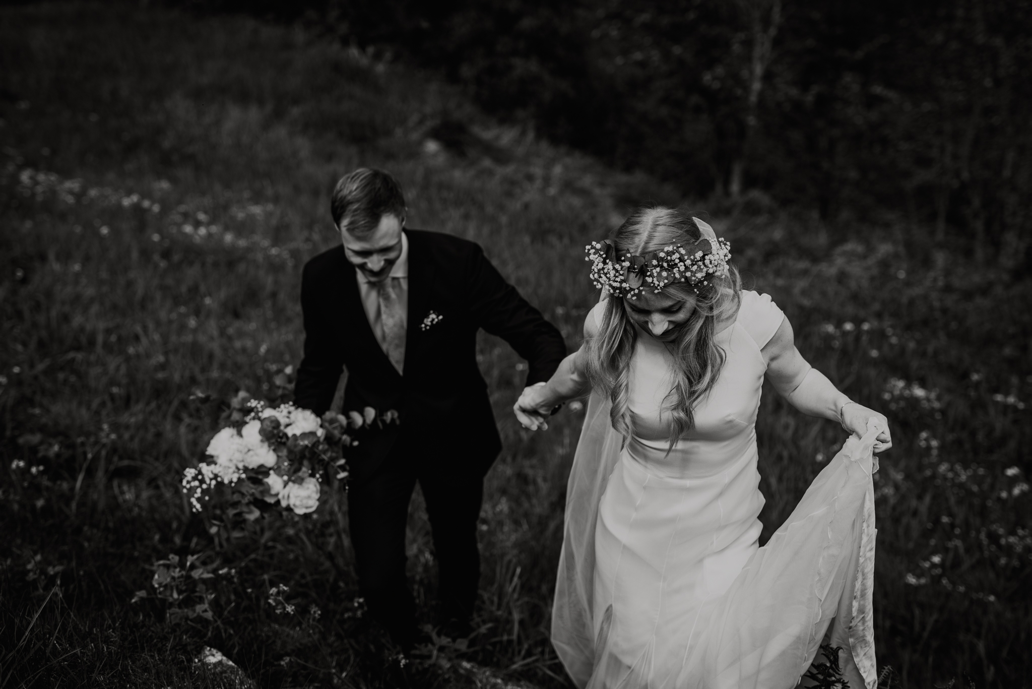 Elopement in Norway fjords