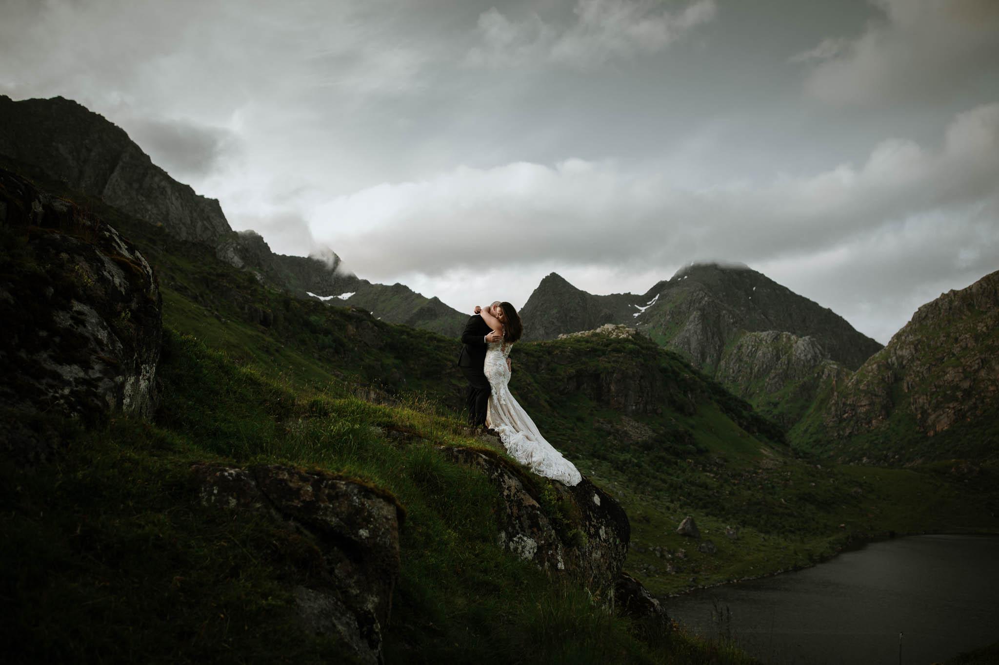 Bryllupsfotograf i Lofoten