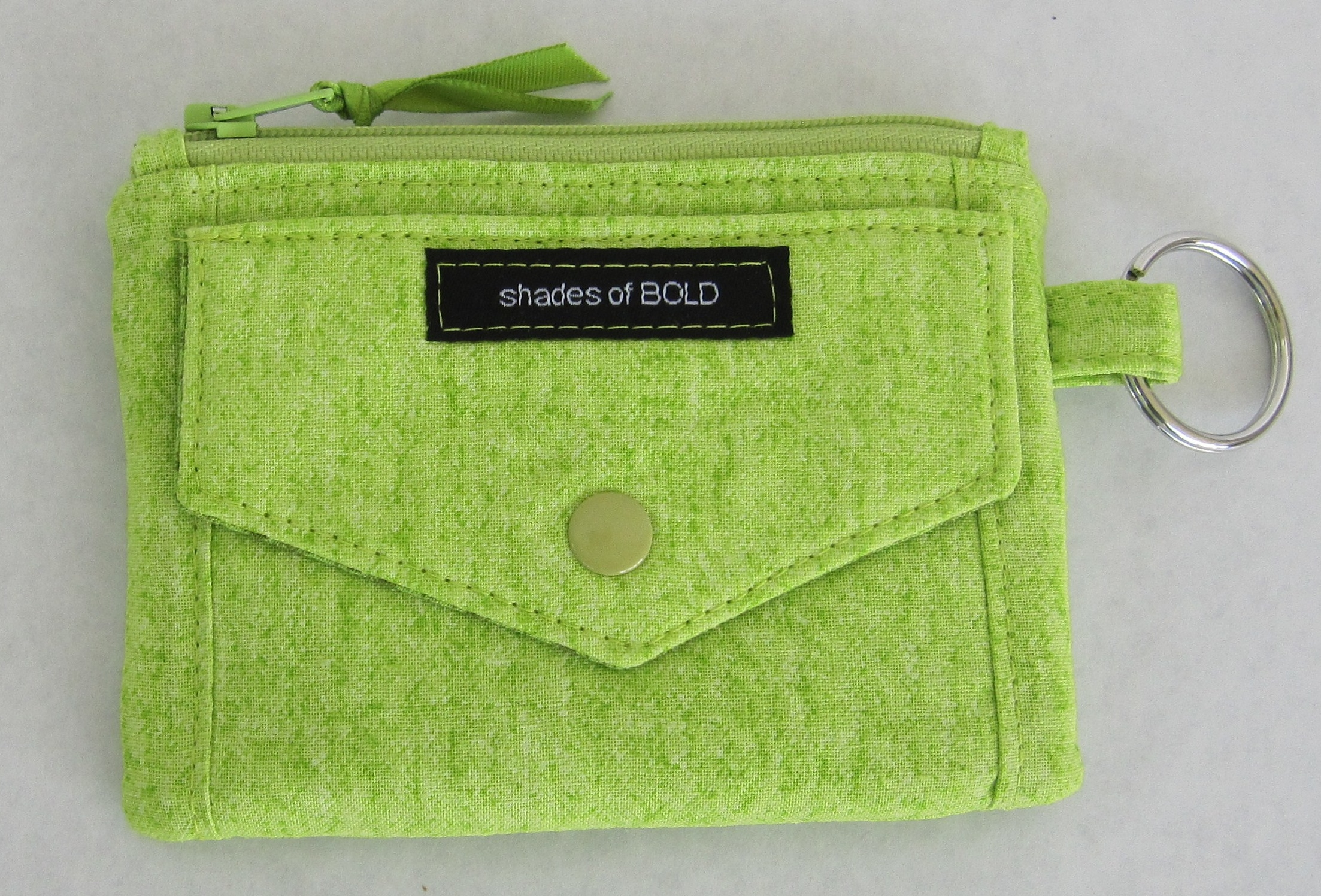 Kristine ID Wallet green front pocket - Marilyn Brandt.jpg