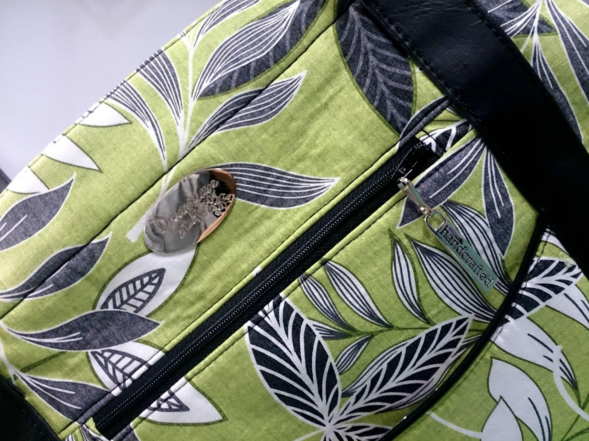 I always love bag bling!