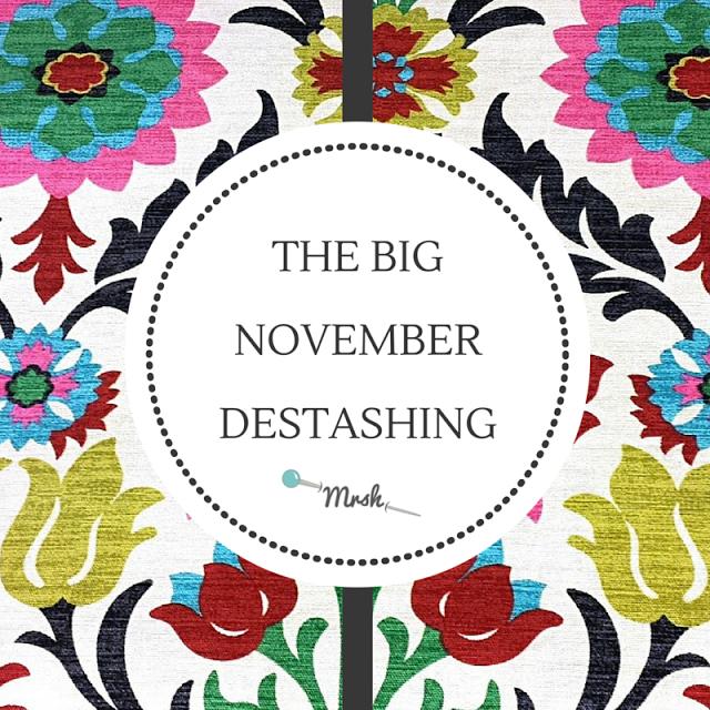 Samantha's The Big November Destash.png