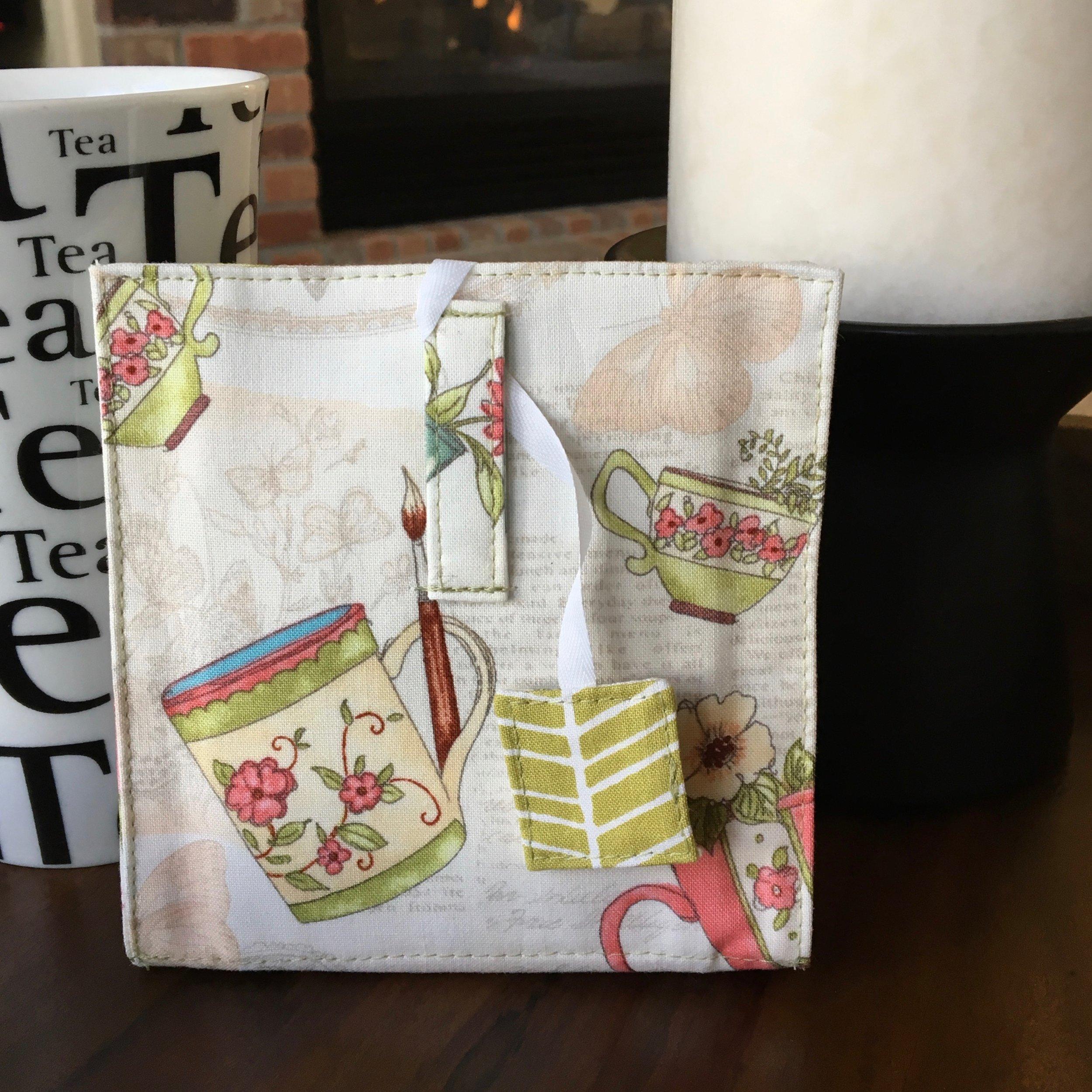 Tea Time Tea Wallet - Back