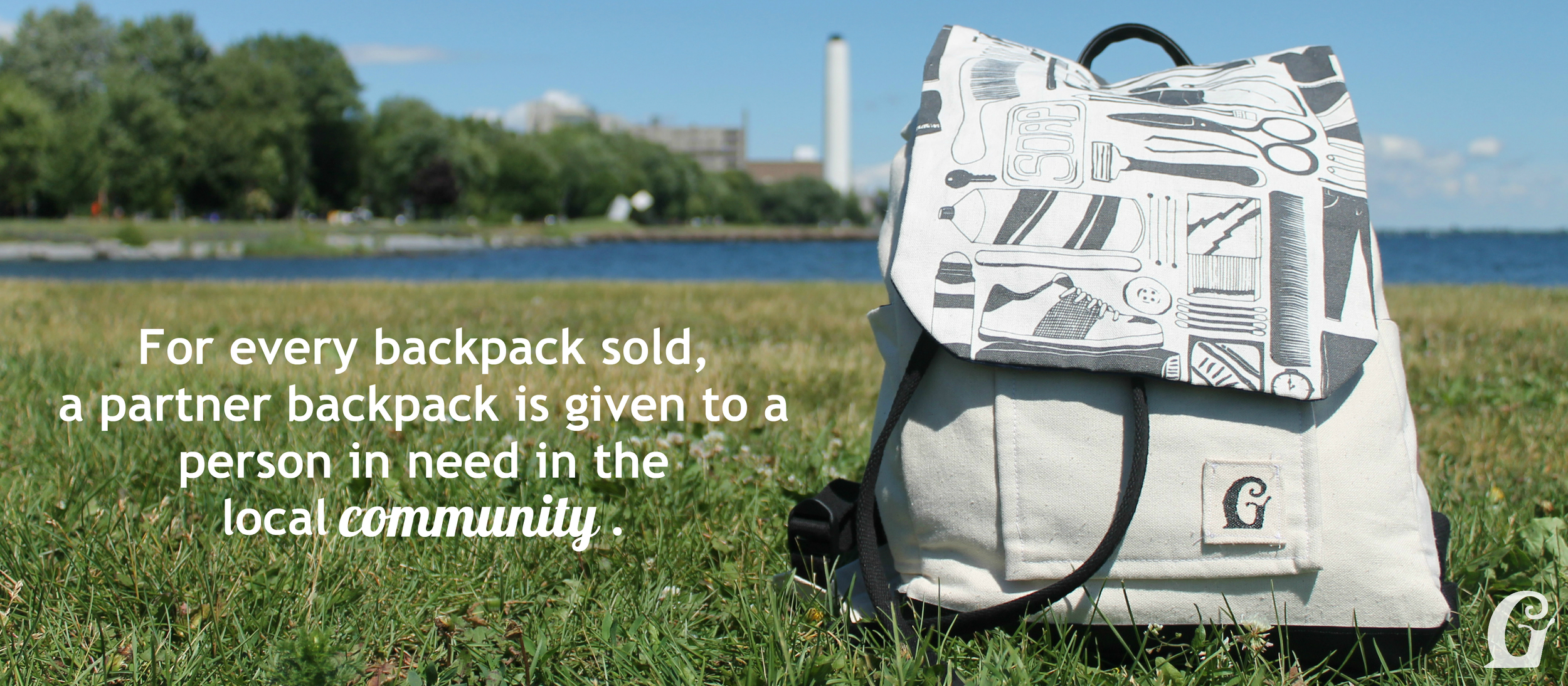 Givway & Co. Backpacks - For every backpack