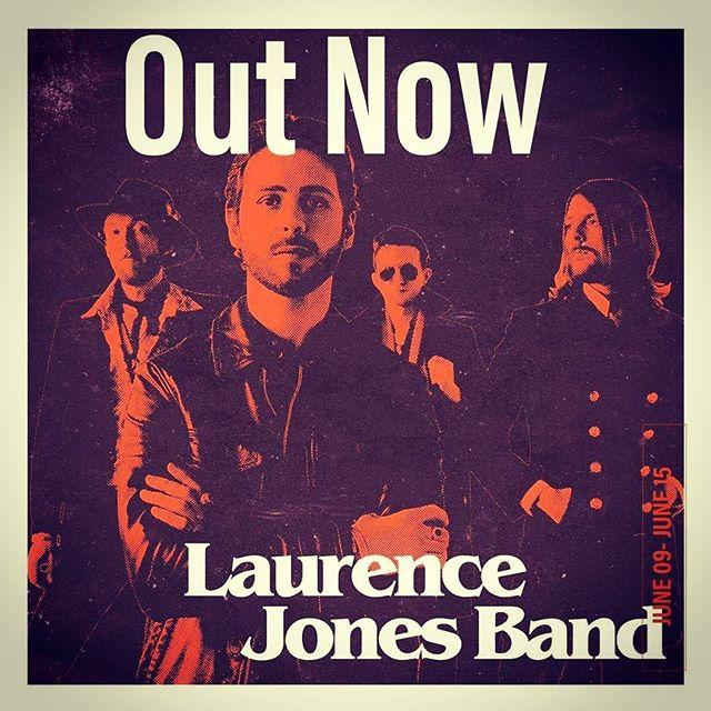It dropped today! Go have a listen, let us know what you think!  #laurencejonesband #newalbum #itunes #spotify #deezer #amazonmusic #hmv