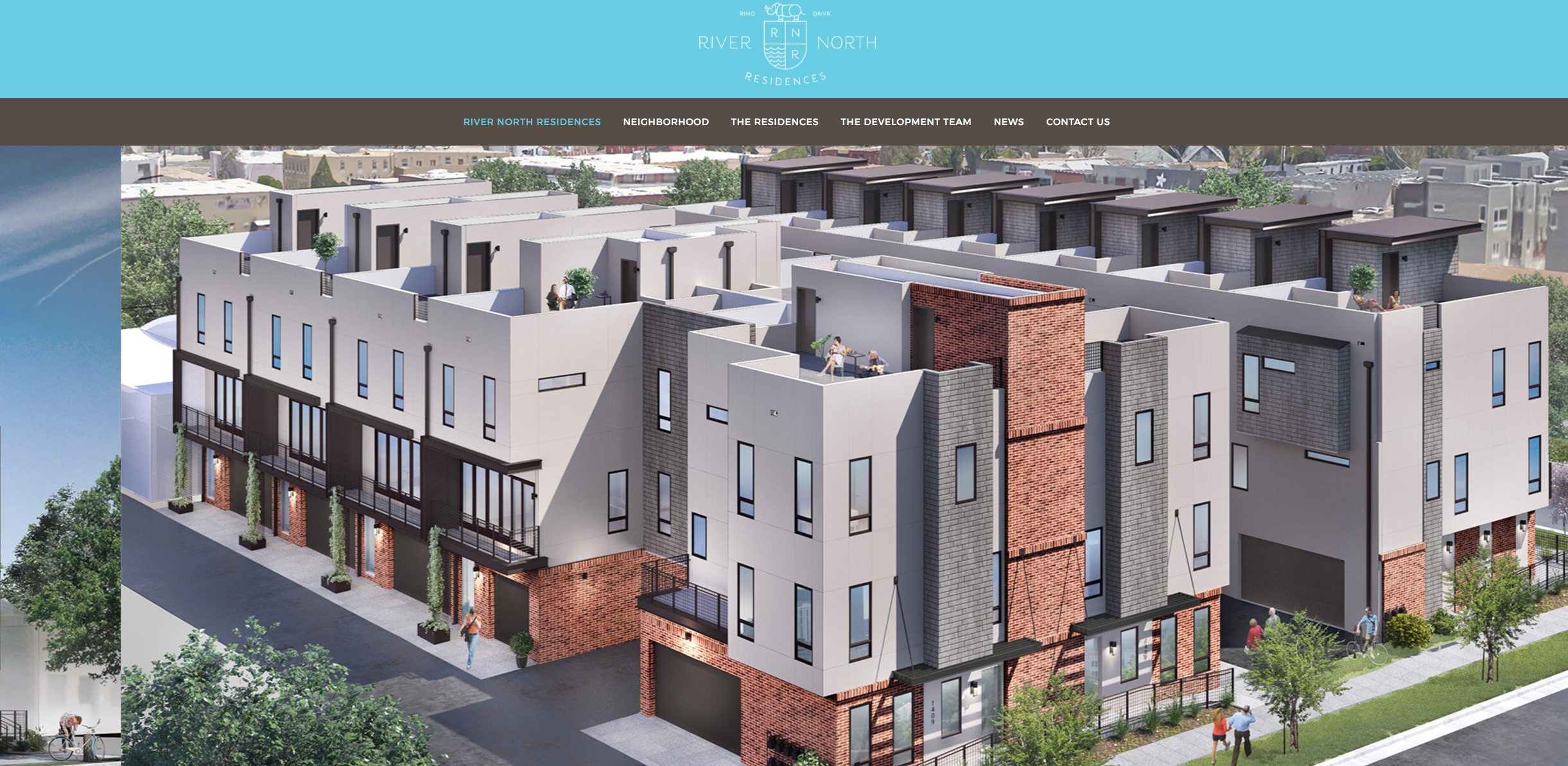 Site copy for proposed townhome development in Denver's RiNo neighborhood.    https://rinoresidences.com/