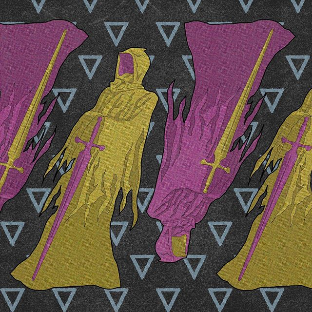 Knight reaper. 💀🗡 #knight #reaper #knightreaper #knightrider #michaelknight #whitecastle #truegrittexturesupply #illustrator #pattern #patterndesign #artlife #illustratorsoninstagram #vector #bestvector #vectorart #vectordesign #designboom #digitalartwork #illustratorsofinstagram  #artfeed #vectorartwork #pentool