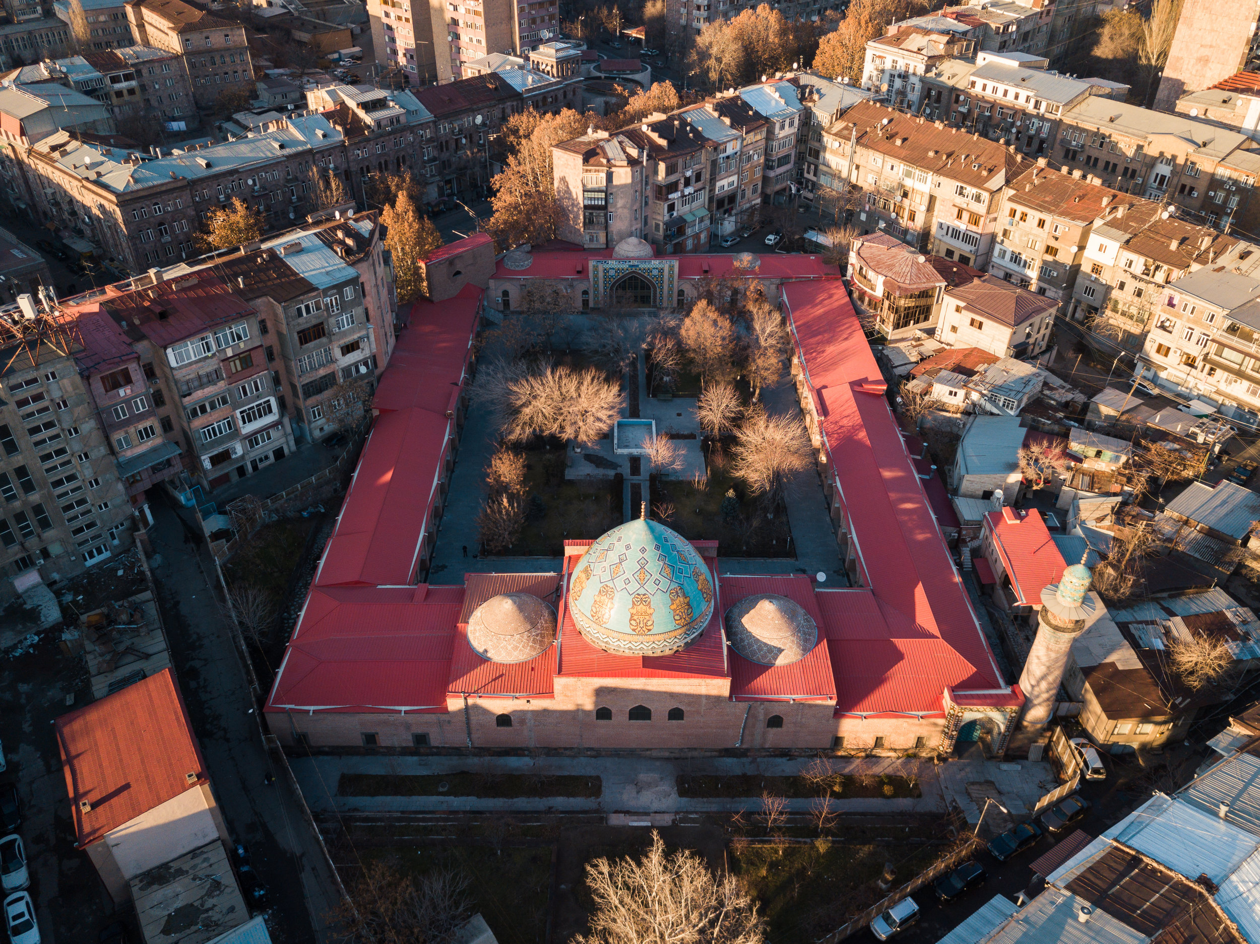 Blue Mosque in Yerevan