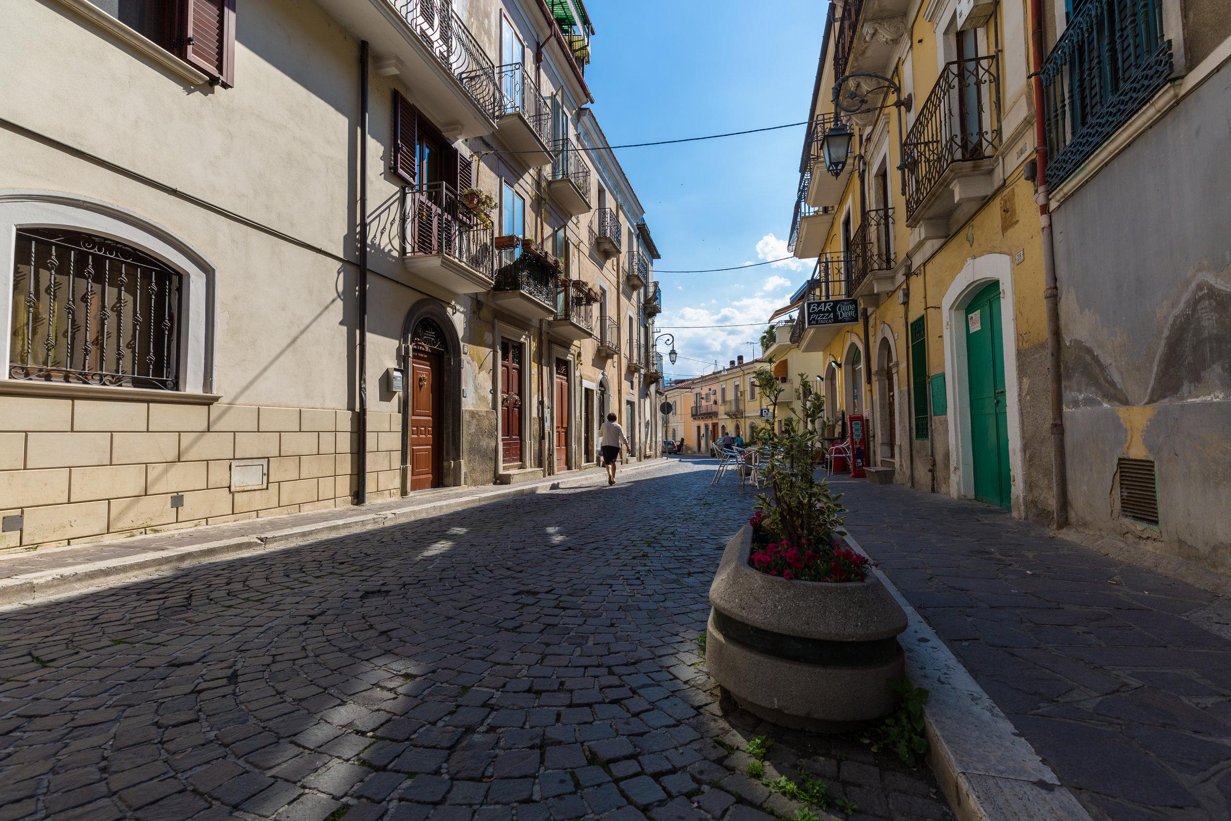 Pratola Peligna streets