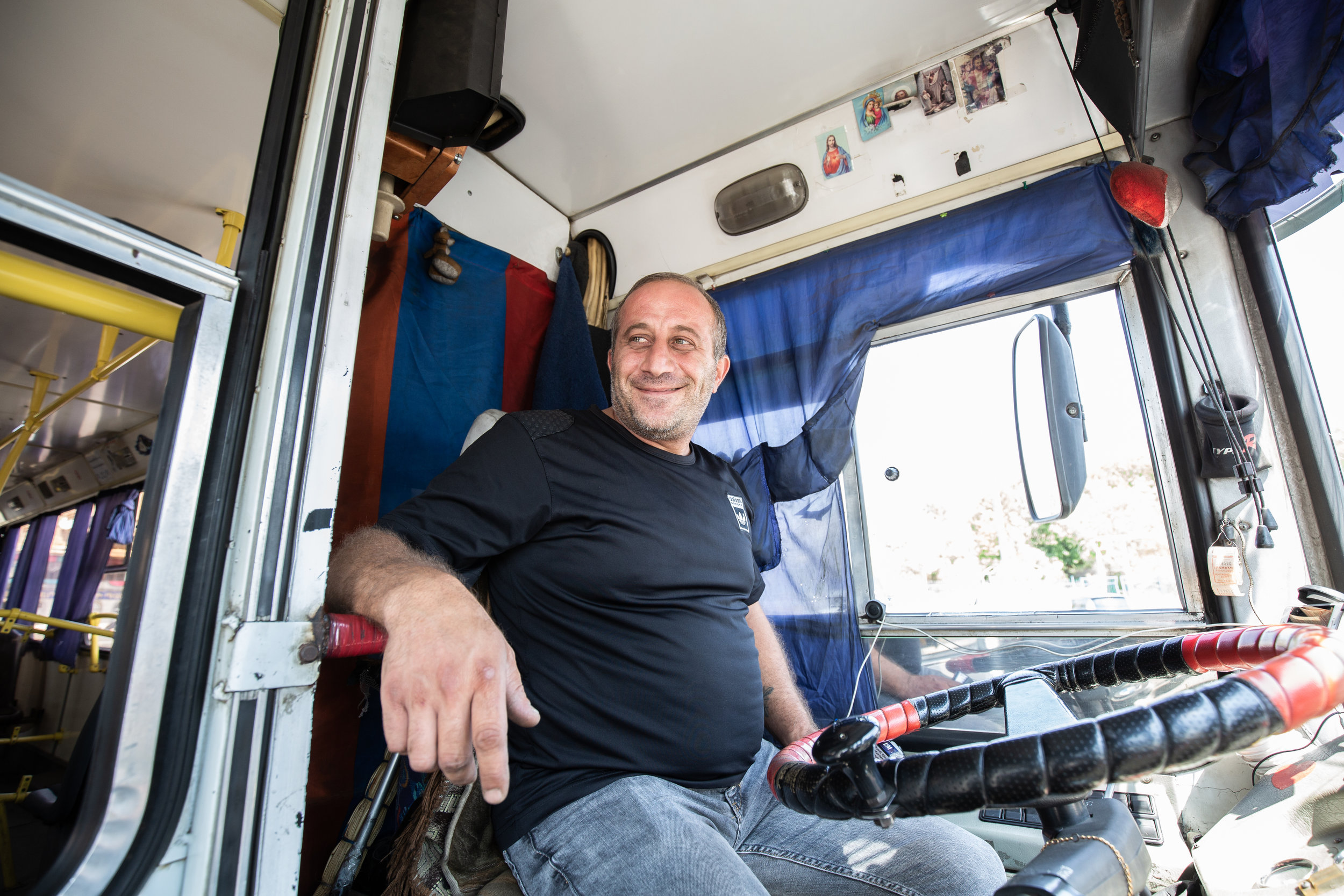 Many of the drivers are working just to take care of their families however there are some who are working just for fun and extra money and enjoy their job and proud to be a trolleybus driver. The drivers and passengers would like to see an increase in new routes for their trolleybuses, less taxis, and Marshrutkas eventually phased out and not used anymore.