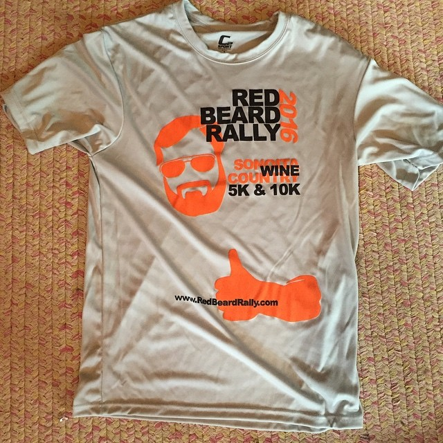 New T-Shirts in!  Don't forget to add @redbeardrally on snapchat for pictures, contests, and more!