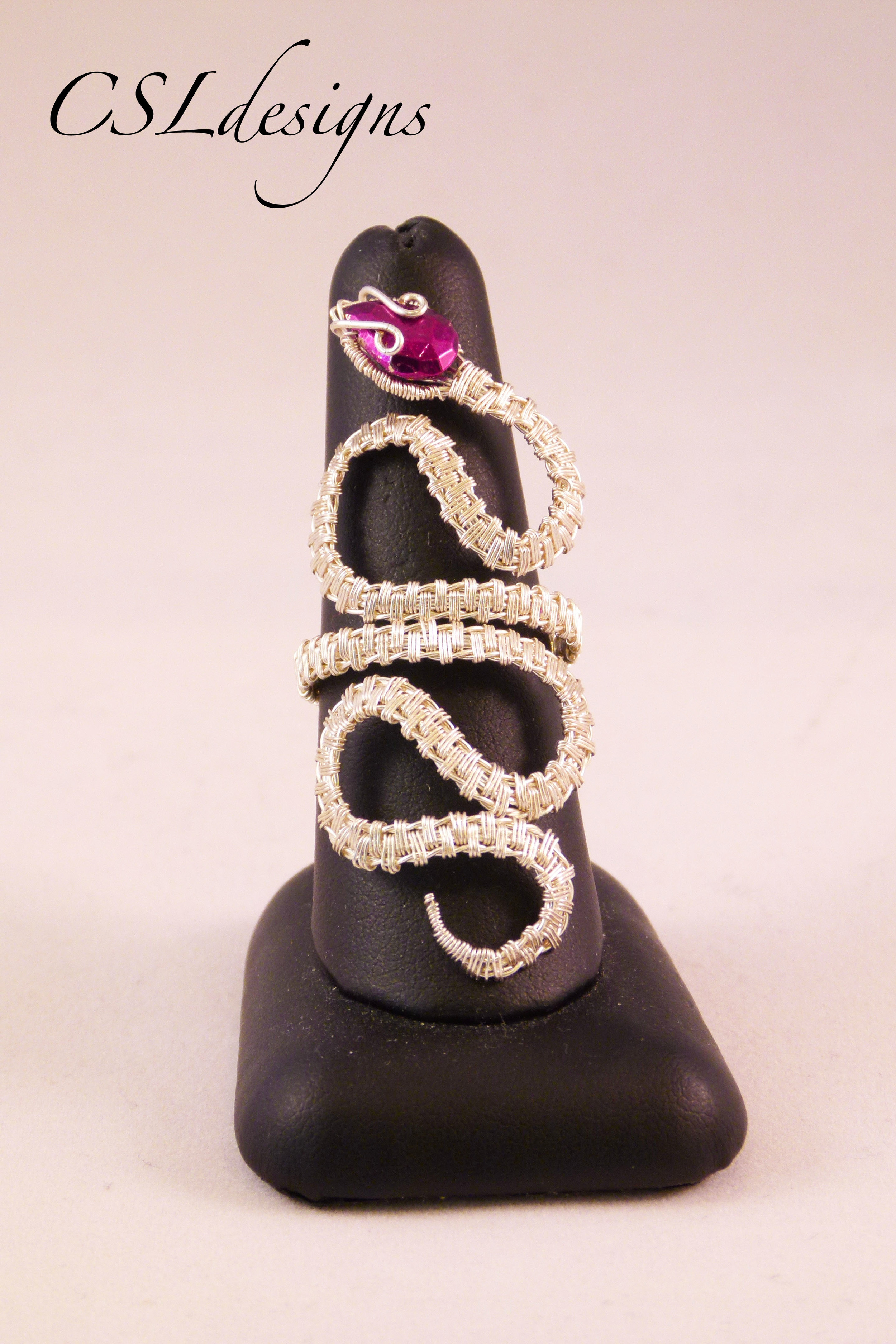 Wirework swirly snake ring.jpg