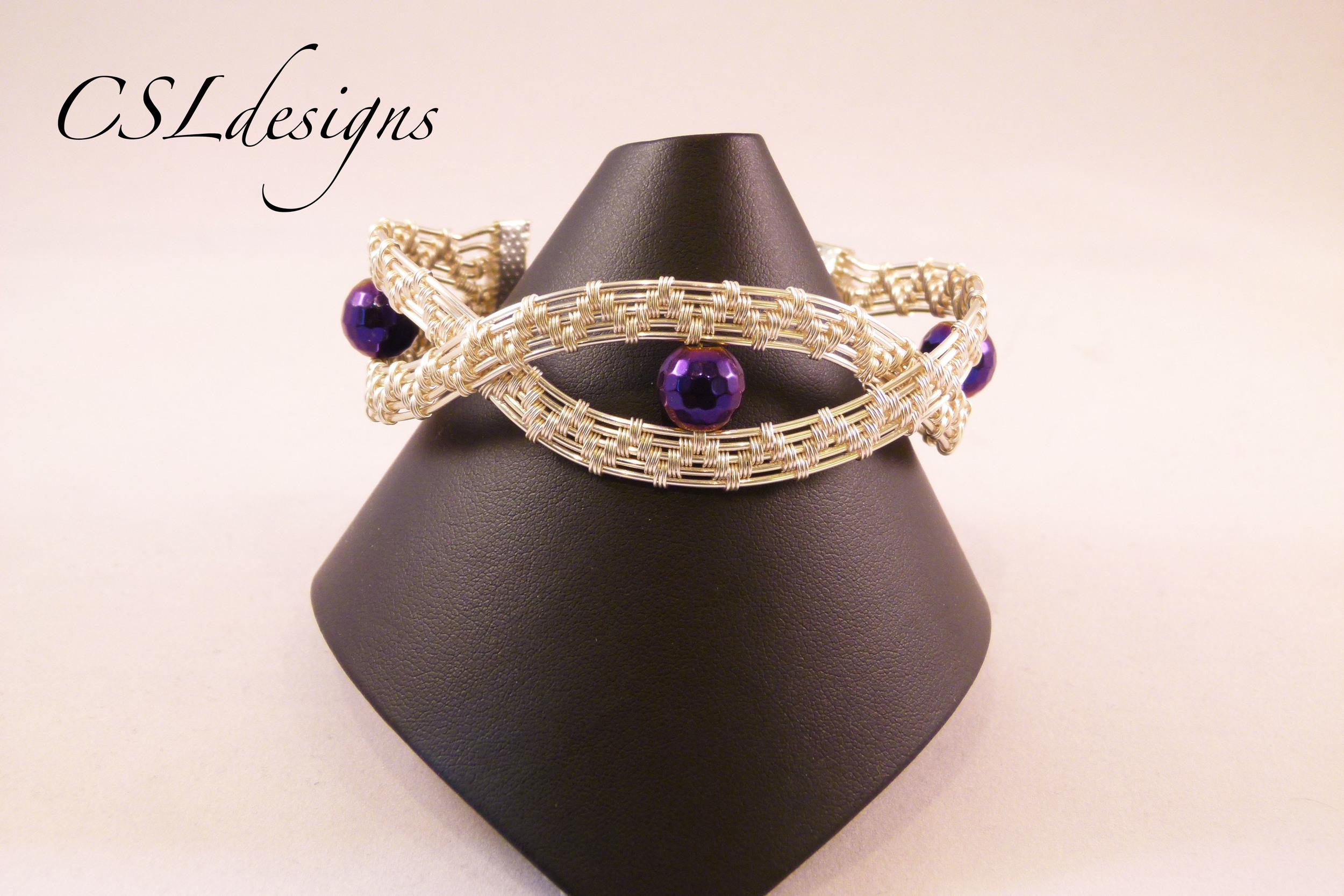 Large waves wirework bracelet front.jpg