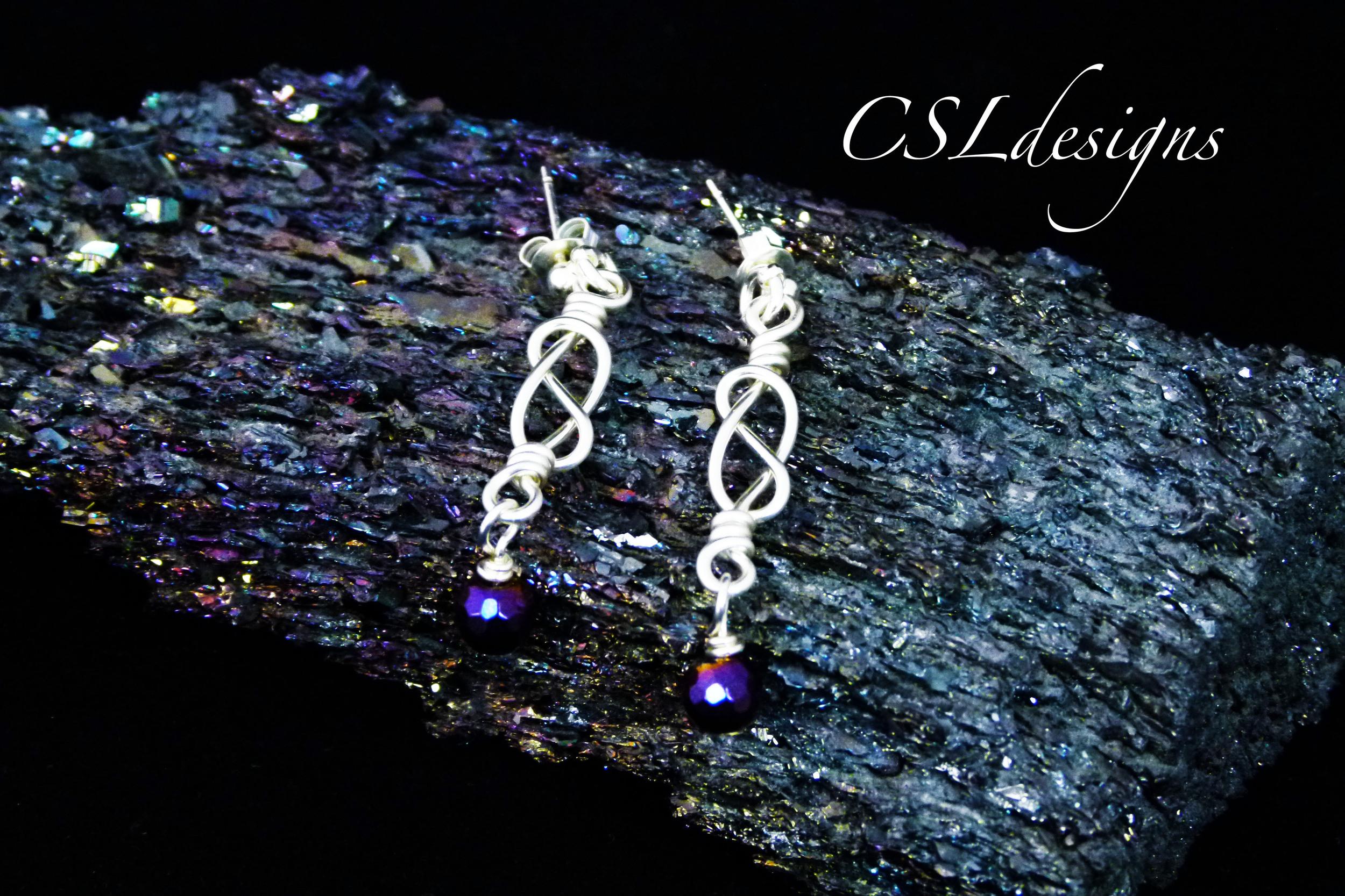 Celtic knot wirework drop earrings.jpg