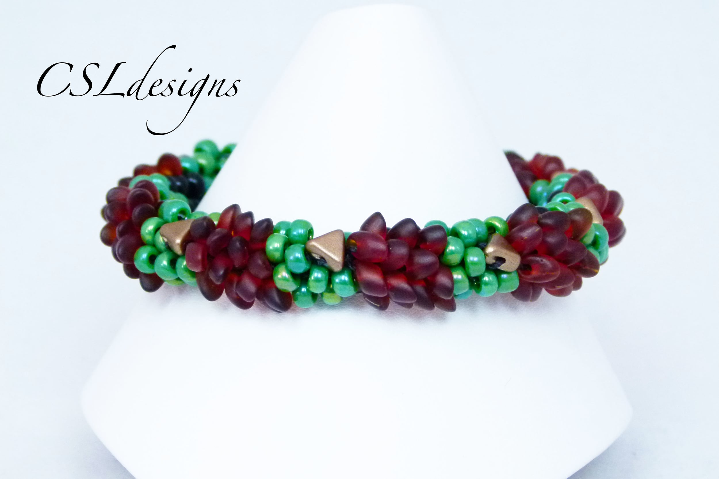 Beaded hedgehog kumihimo bracelet thumbnail.jpg