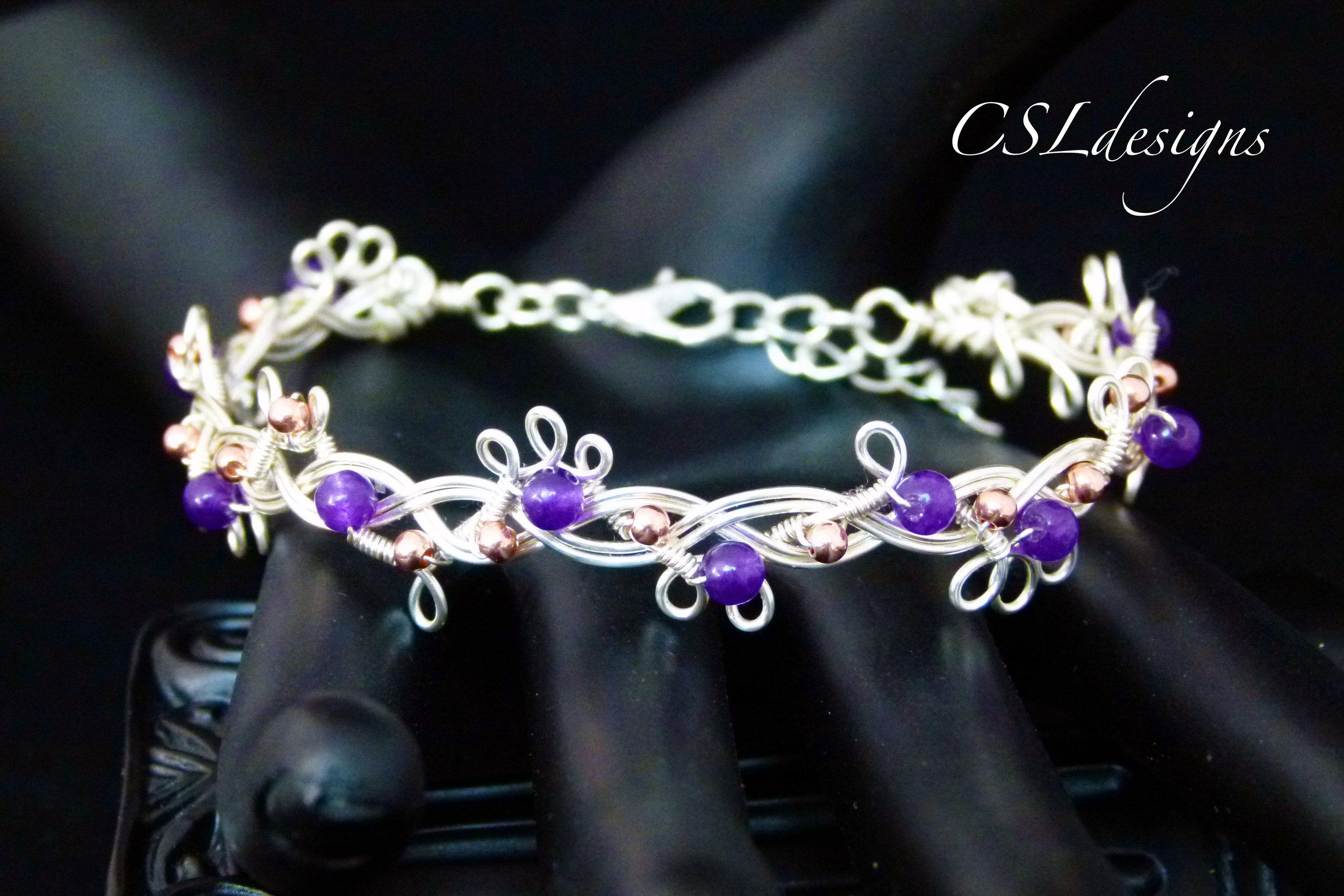 Organic beaded braided wirework bracelet thumbnail.jpg