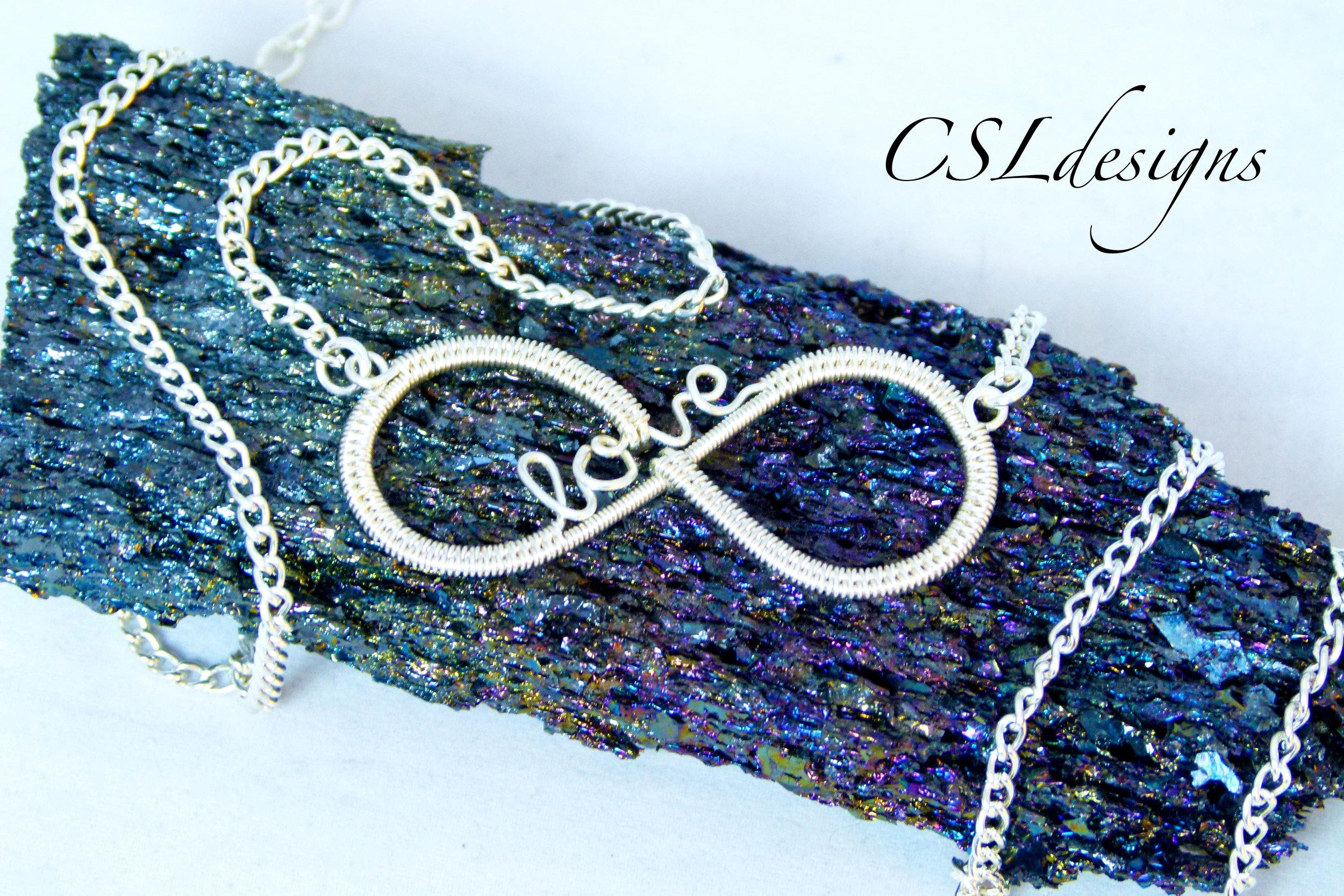 Love infinity wirework pendant silver.jpg