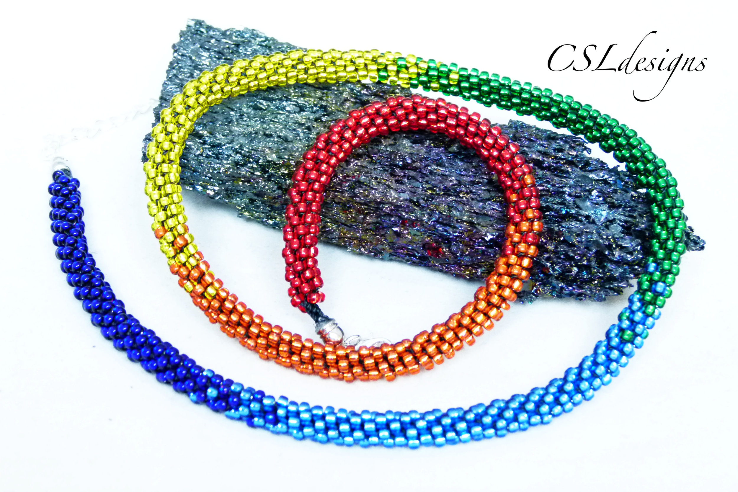Rainbow beaded kumihimo necklace thumbnail.jpg