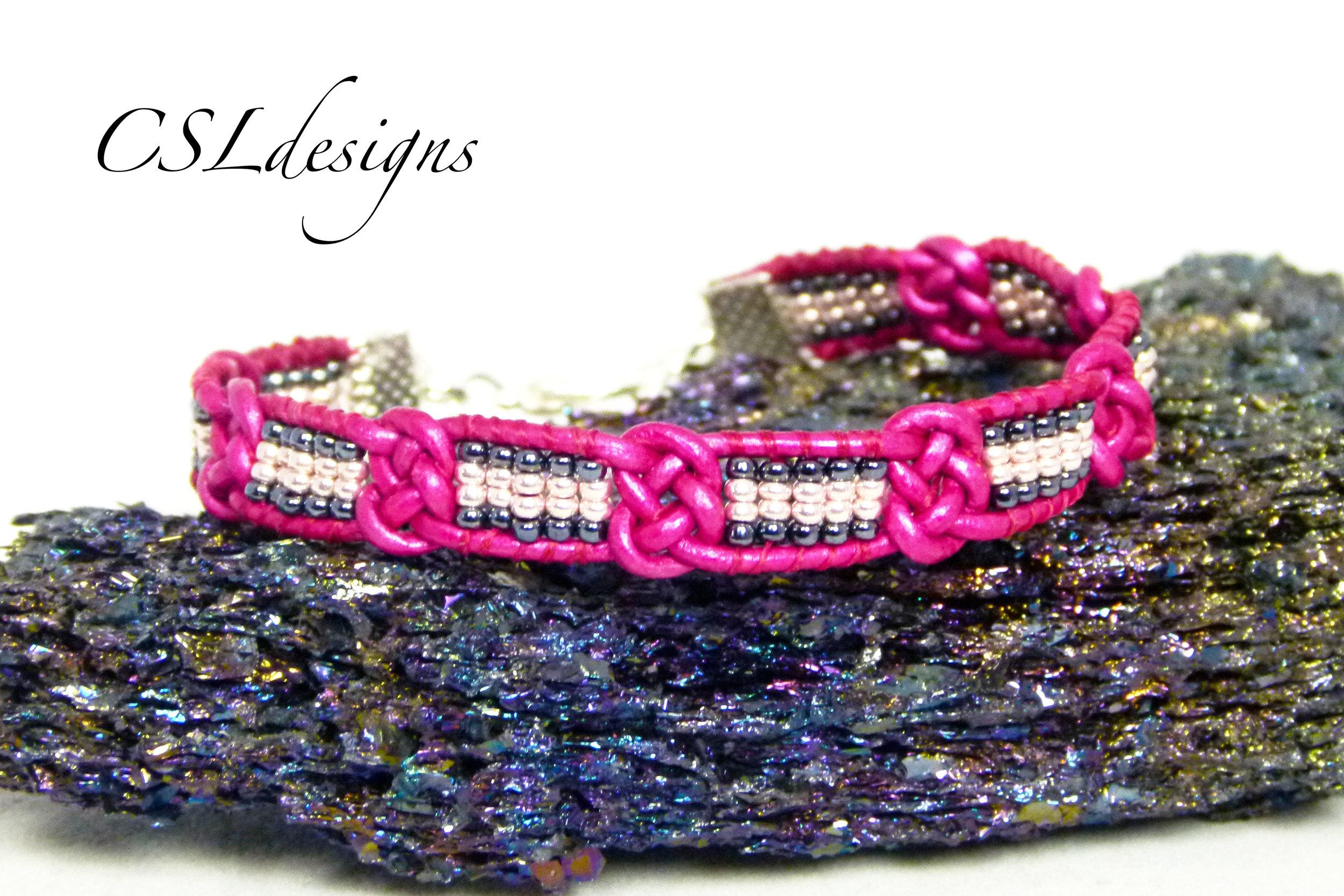 Josephine knot wrap bracelet stone.jpg