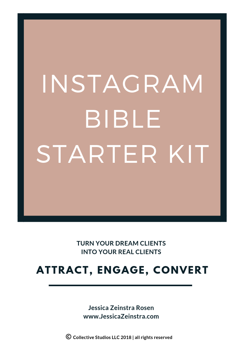 Instagram doesn't have to be overwhelming - There's a lot of bad information floating around about Instagram. In this guide, I break it down and make it simple… just like it should be. Eliminate the frustration and overwhelm and understand one of the most powerful business building tools at your finger tips.