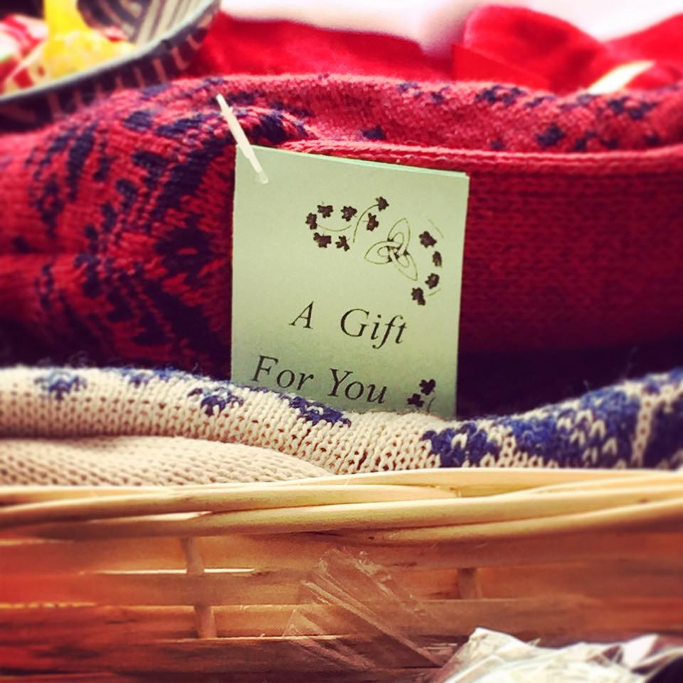 Hand-Knit Items From Boyle Craft Shop