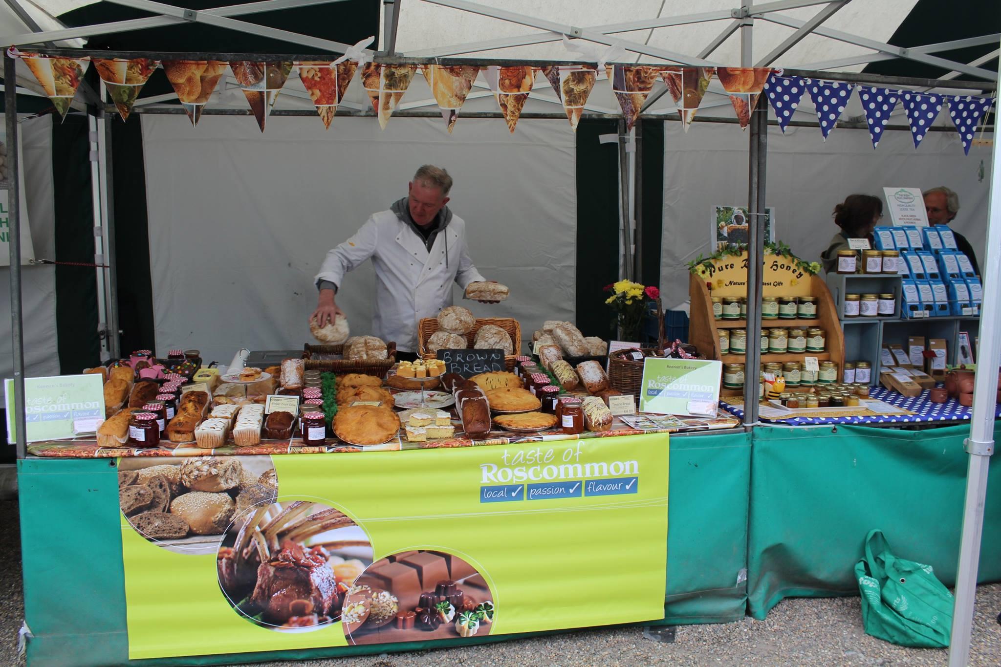 Keenans Bakery, Boyle Courtyard Market, County Roscommon.