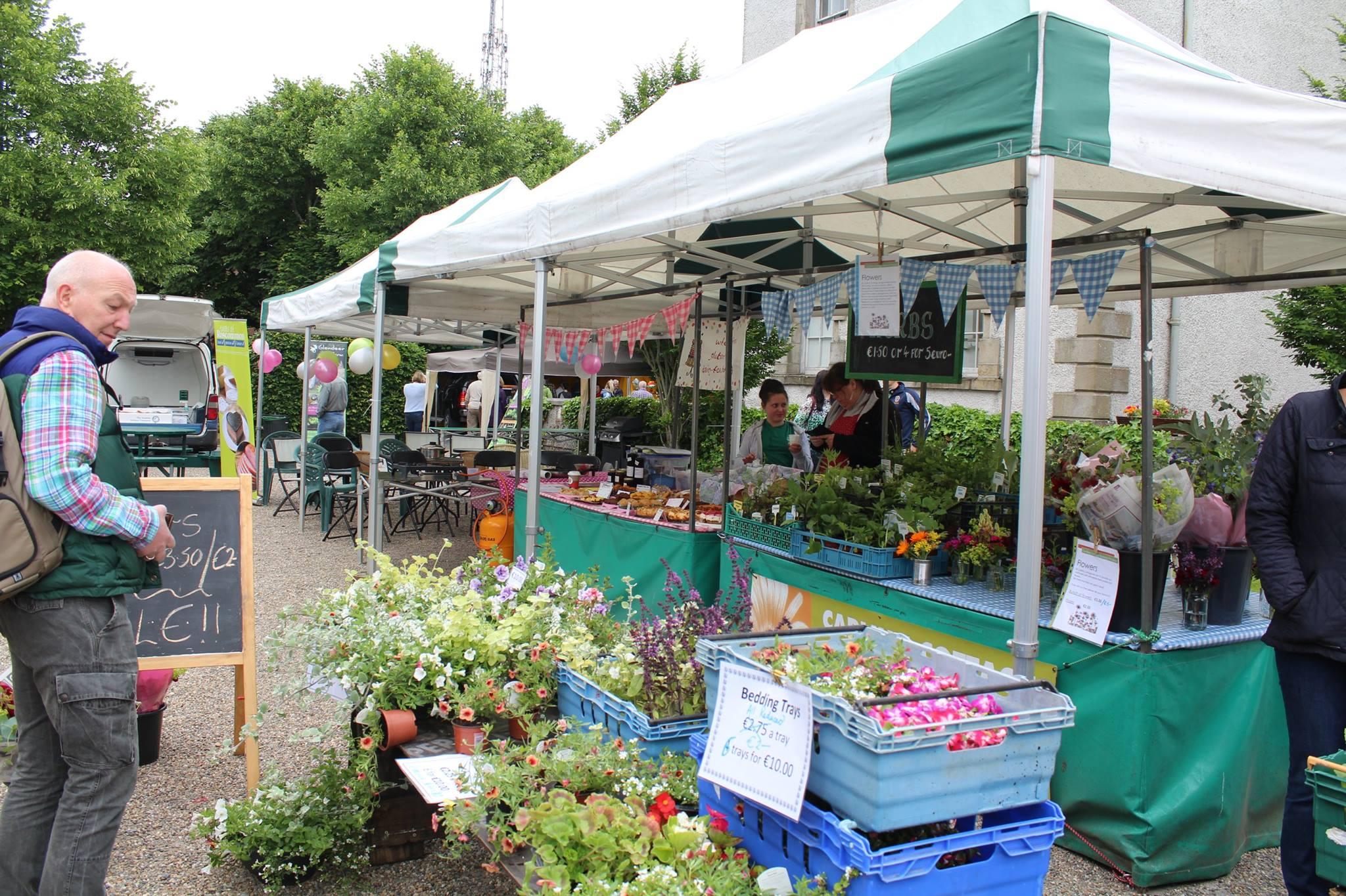 Carlinn Cottage Herbs & Flowers, Boyle The Courtyard Market, County Roscommon.