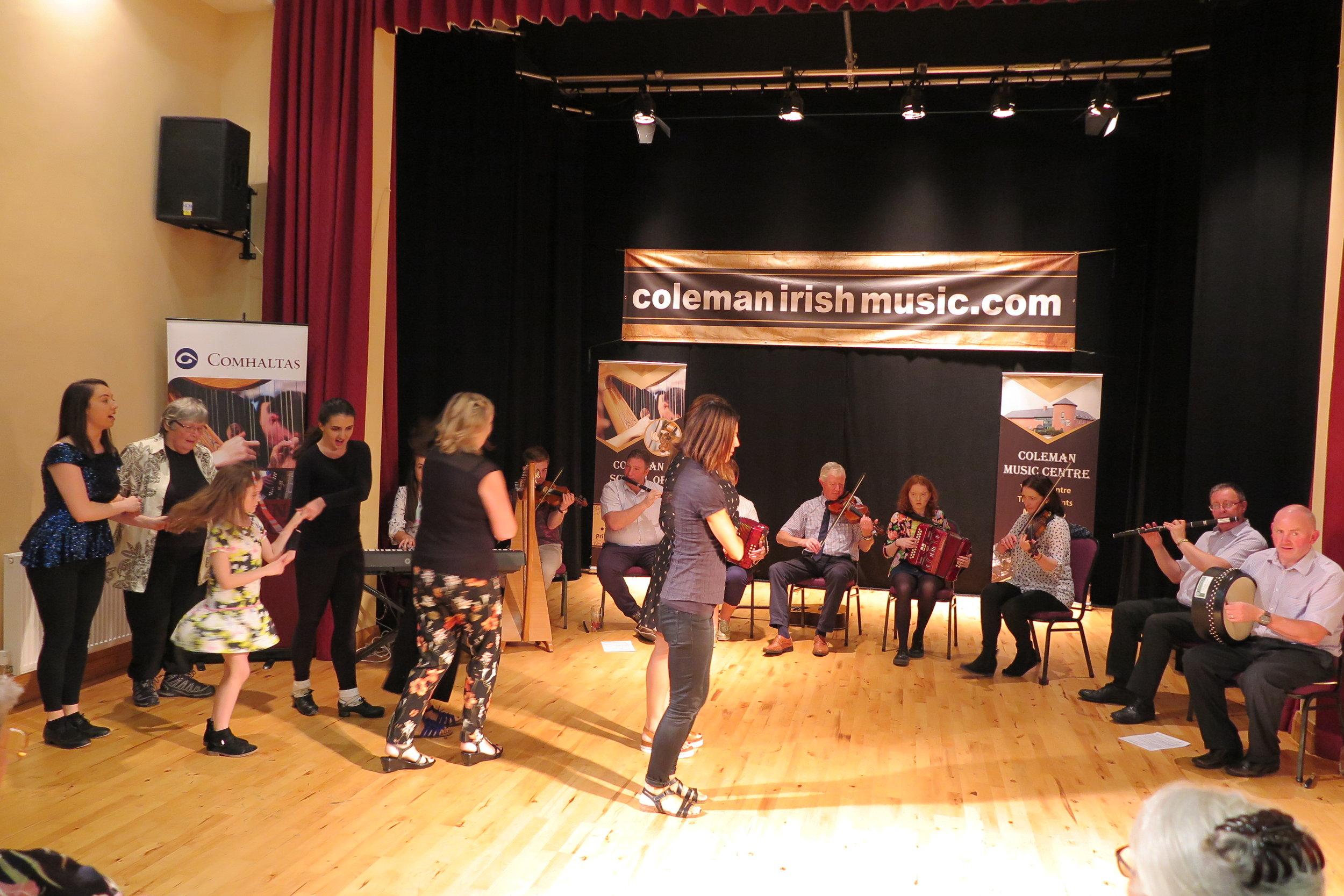 Coleman Music Centre dancing.JPG