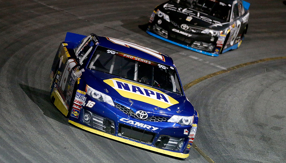 Todd Gilliland won his NASCAR K&N Pro Series East debut at New Smyrna (Fla.) Speedway in February.   NASCAR via Getty Images